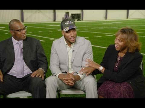 Get To Know Marlon Humphrey And His Parents   Baltimore Ravens