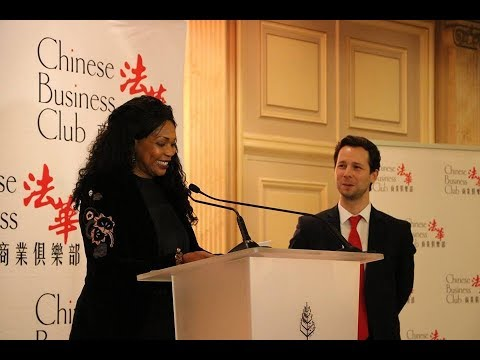 La Ministre des sports au Chinese Business Club