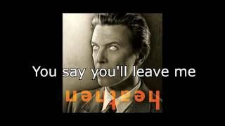 Heathen (The Rays) | David Bowie + Lyrics