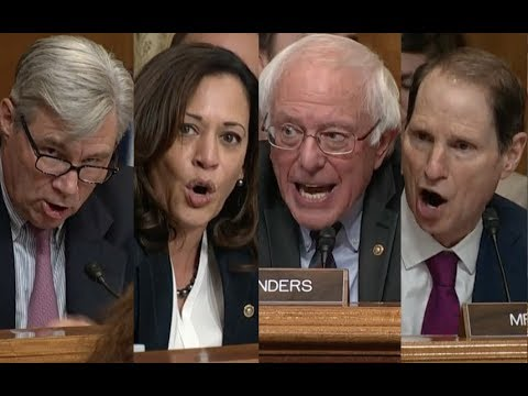 """THIS BILL IS A TAX SCAM!!!"" Bernie Sanders & His Friends DESTROY Trump's Tax Plan in Senate Hearing"