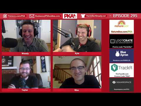 PKA 295 w/Big Wax - Taylor Story Time, Olympic Women, Prison Stories, Suicide Squad