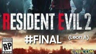 RESIDENT EVIL 2 #4 AO VIVO (leon A)