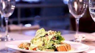 Салат из гребешка и тунца
