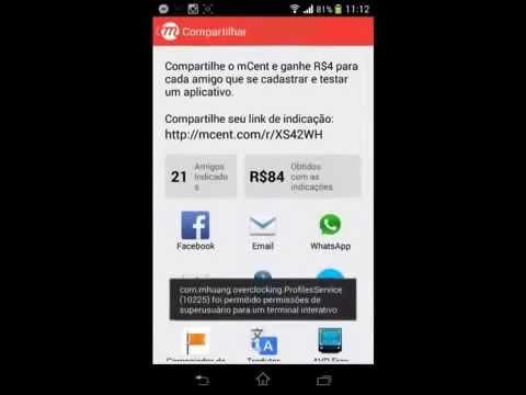 Como ganhar creditos gratis para celular 100% Funcionando qualquer operadora 2015