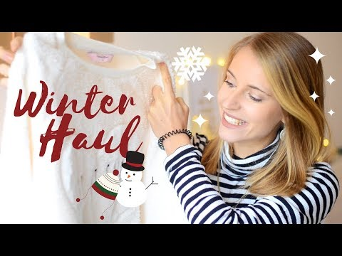 HUGE WINTER & CHRISTMAS HAUL | Charlotte K.