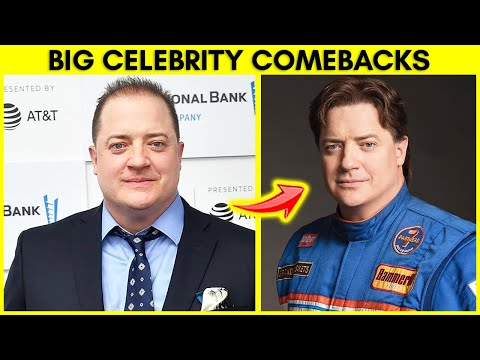 Top 10 Celebrities That Failed And Made BIG Comebacks