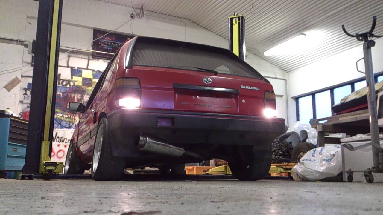 Subaru Justy Ej20 Swap – transport