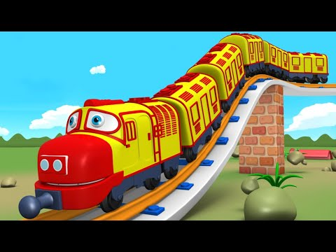 Let's Do It: Trains for Kids – Choo Choo Cartoon Train for Children – Toy Factory Cartoon Train