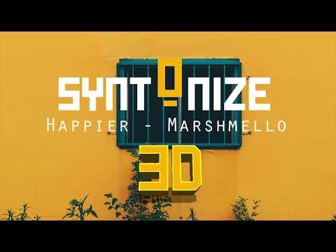 Marshmello ft. Bastille - Happier [ 3D/8D AUDIO ]