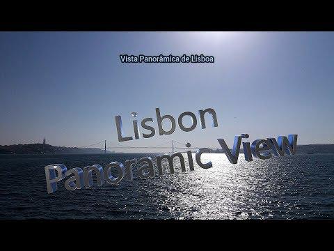 Lisboa, vista panorâmica - 2018 - Full HD - 1080p