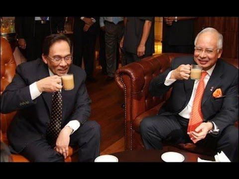 Anwar pun pernah minum teh tarik dengan Najib