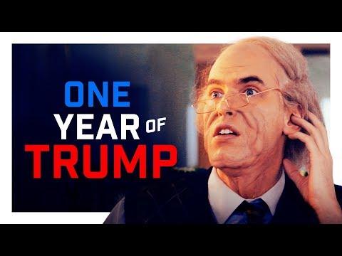 What One Year of Trump Feels Like