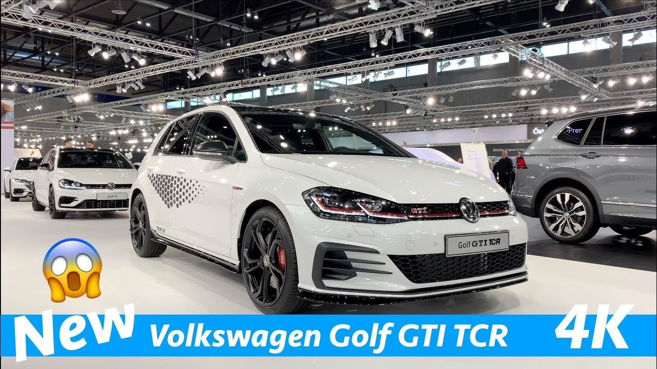 Volkswagen Golf Gti Tcr 2019 First Exclusive Quick Look In 4k