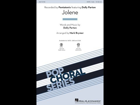 Jolene (SATB) - Arranged by Mark Brymer