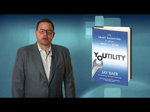 Overview of Youtility a new Marketing Book by Jay Baer