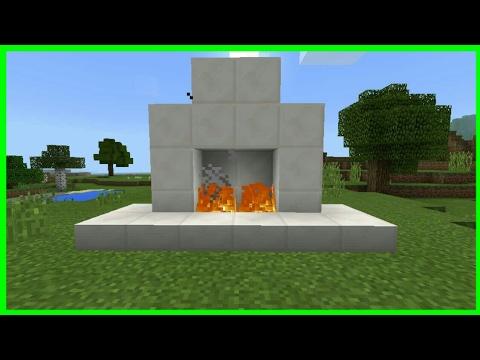 Comment Faire Une Cheminée Sur Minecraft