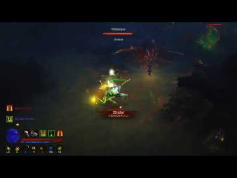Diablo 3 RoS - Poison Dart Fetish Army Build Witch Doctor (Xbox 360) 2.0.6 Torment 6