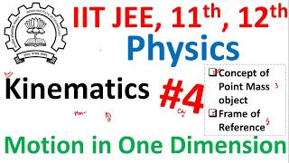 Frame of Reference for Class 11, 12, IIT JEE & NEET in hindi #4