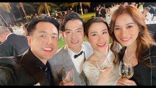 HOT! Chuyến đi của Sara Lưu va DKL tham dự Đám Cưới Đông Nhi và Ông Cao Thắng!