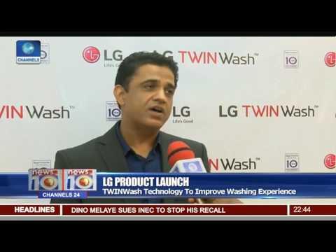 LG Product Launch: Electronics Giant Introduces TWINWash Washing Machine
