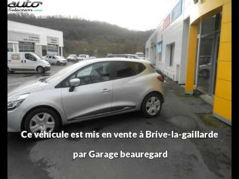 renault clio iv occasion visible brive la gaillarde pr sent e par garage beauregard youtube. Black Bedroom Furniture Sets. Home Design Ideas