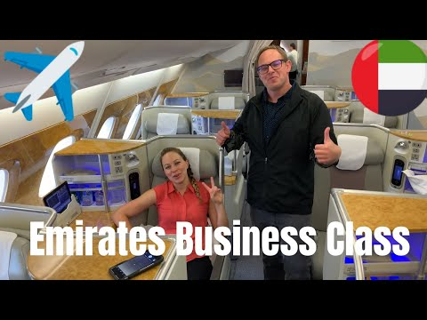 WHAT IT'S LIKE TO FLY EMIRATES BUSINESS CLASS? ✈