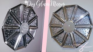 DIY Glam Mirror | Dollar Tree Wall Decor | Diy Glam Home Decor with Picture Frames | Unique Diys Video