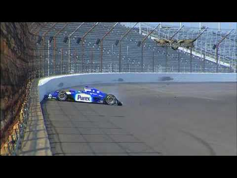 Mike Conway hard crash - Indy 500 2009