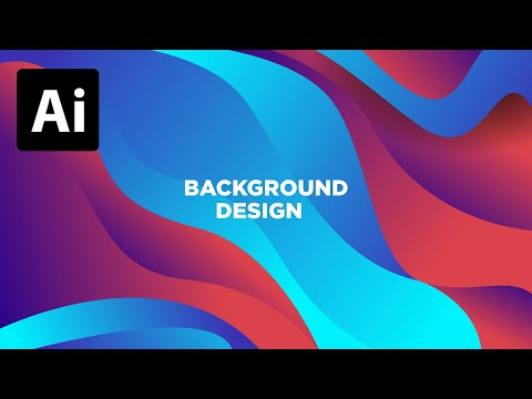 How to Make Elegant Abstract Backgrounds In Adobe Illustrator thumbnail