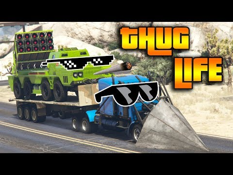 GTA 5 ONLINE : THUG LIFE AND FUNNY MOMENTS (WINS, STUNTS AND FAILS #19)
