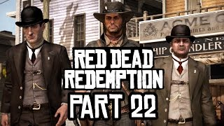 Red Dead Redemption Xbox One S Gameplay Walkthrough Part 22 - BLACKWATER
