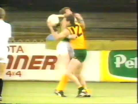 1986 Australia Vs Ireland Gaelic Football The Fiery First Test At VFL Park