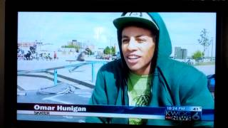 Recycled Skateboards on the news in Davenport Iowa