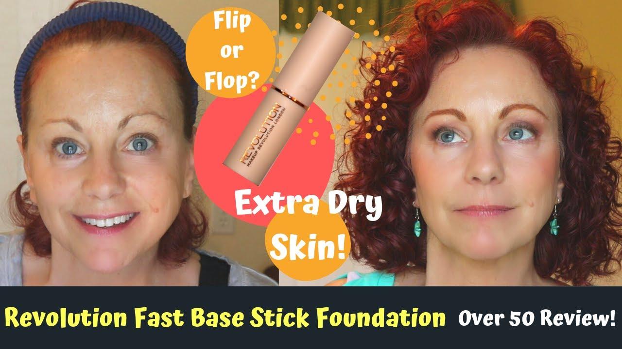 Makeup Revolution Fast Base Stick Foundation Mature Skin Over 50