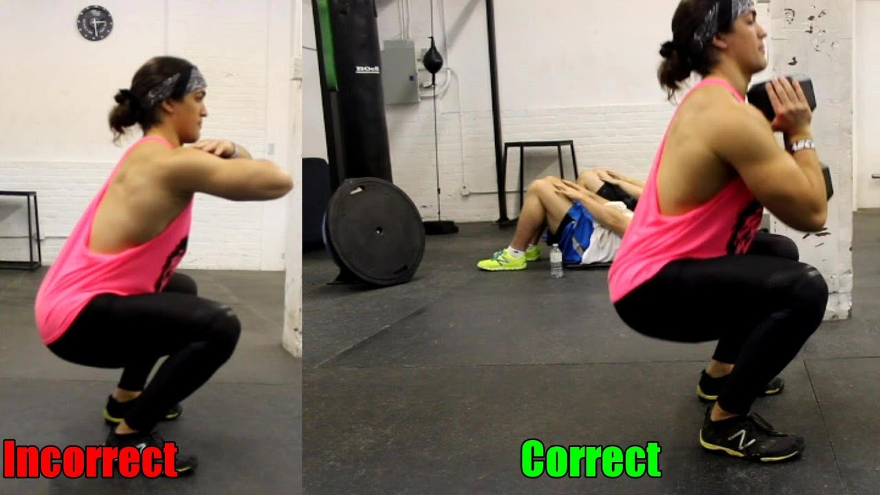 SQUAT BETTER: Leaning Forward, Poor Knee Position and Hips Rising ...