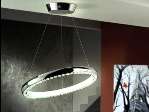 Lámparas techo modernas - Ámbar Muebles - YouTube
