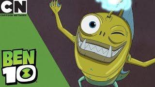 Ben 10 | Spooky Telepathic Fish Monster | Cartoon Network