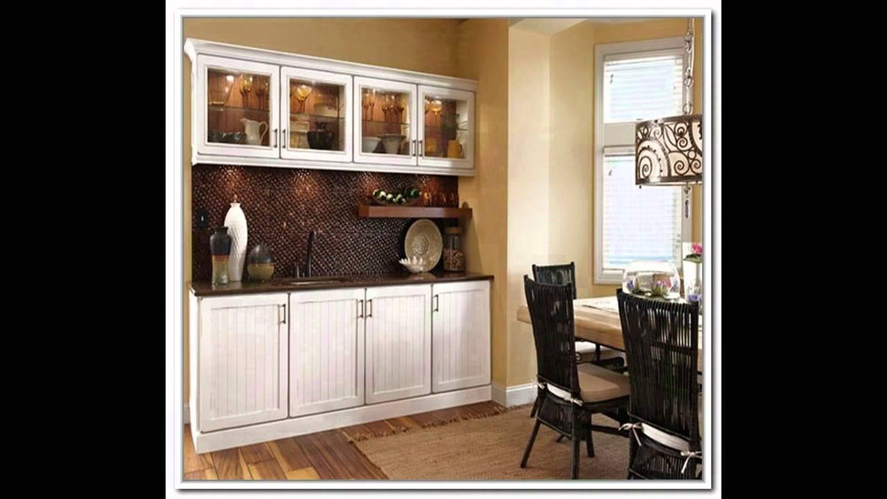 Ikea dining room cabinets youtube for Dining room cupboard designs