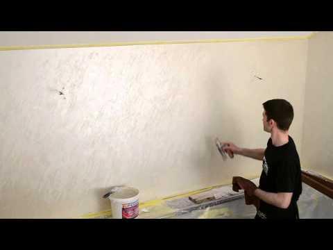 видео: Декоративная штукатурка feidal. Техника нанесения отточенто. Киев(Борисполь).