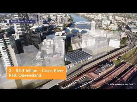 Australia's 5 Biggest Infrastructure Projects
