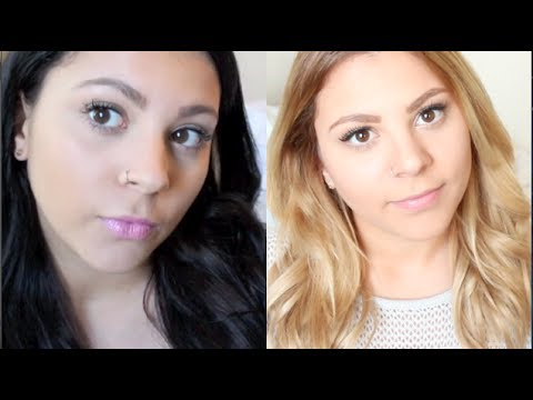 HOW TO | Black To Blonde Hair (The Healthier Way - With Less Damage!)