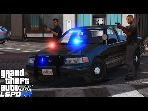 GTA 5 LSPDFR Police Mod 353 | LSPD Detective Chasing Down Wanted Criminals | Unmarked Crown Victoria