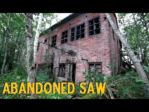 Saw in the Rotten Tree Woods + Big Watchtower (STORM IS RISING) Urban Exploration