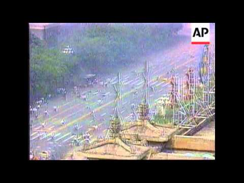 Flag-raising ceremony on anniversary of 1989 Tiananmen Square crackdown