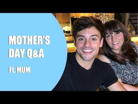 How I Came Out To My Mum | Mother's Day Q&A I Tom Daley