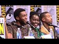 Black Panther Marvel Panel - San Diego Comic-Con 2017