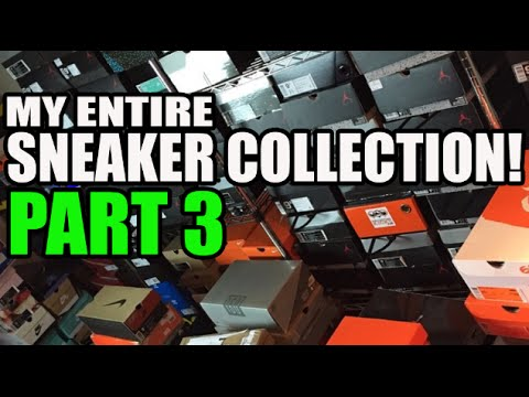 Heskicks Entire Sneaker Collection Video! Part 3 (54 Pairs) (OG Nike, NSW, Bball)