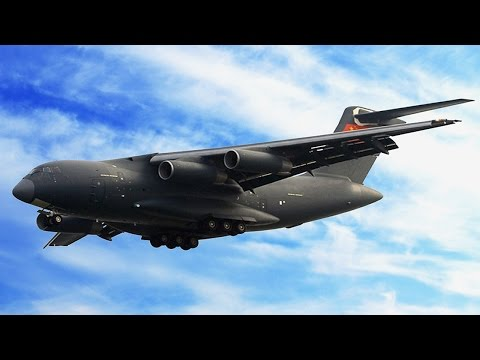 Y-20 transport aircraft military air force first show in Zhuhai airshow, when the plane in service?