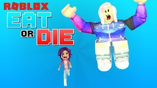 Roblox: Eat or Die 🍔 / The Chub vs The Chubbies / Don't Get Smashed By the Giant!