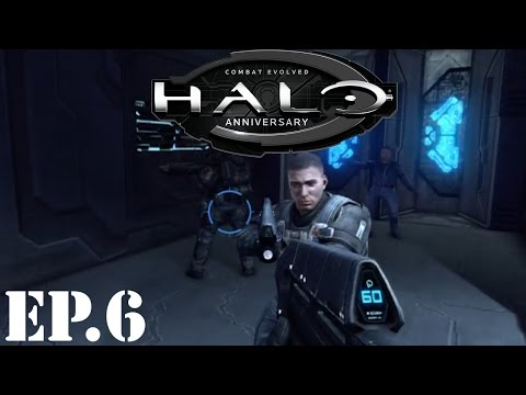 Halo: Combat Evolved Anniversary Let's Play | Part 6 | Marine Support